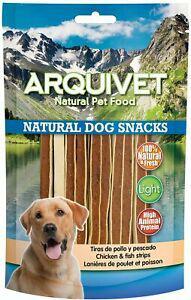 Arquivet bandes de poulet et poisson – natural dog snacks