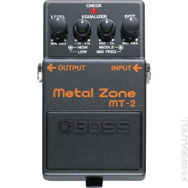 Boss mt-2 metal zone - pédale distorsion