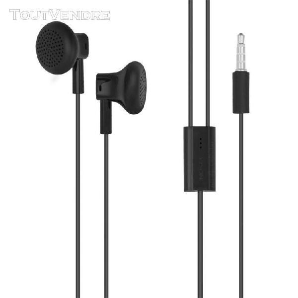 Ecouteurs kit pietons nokia lumia 635 wh-108 noir stéréo