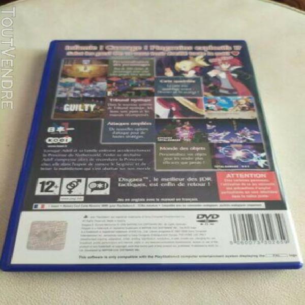 Jeu disgaea 2 cursed memories sony ps2 playstation 2 - compl