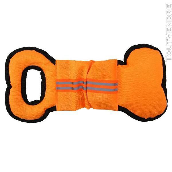 Jouet chien remorqueur jouet os forme chiens jouet de format