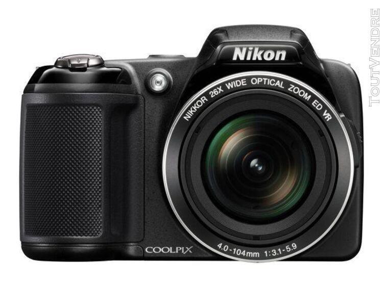 Nikon coolpix l810 bridge numérique 16.1 mpix - noir