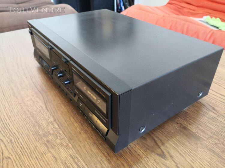 Platine double cassette hi-fi technics rs-tr515 vintage. exc