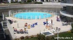 Vacances à la rochelle piscine balcon