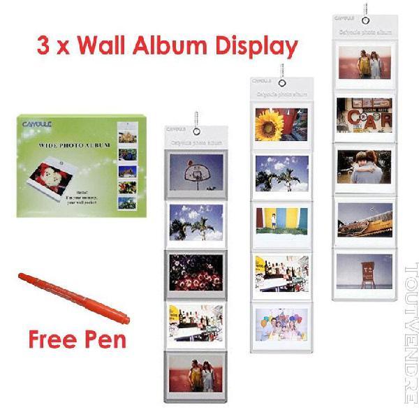 Fujifilm instax film large blanc/papier photo monochrome/lar