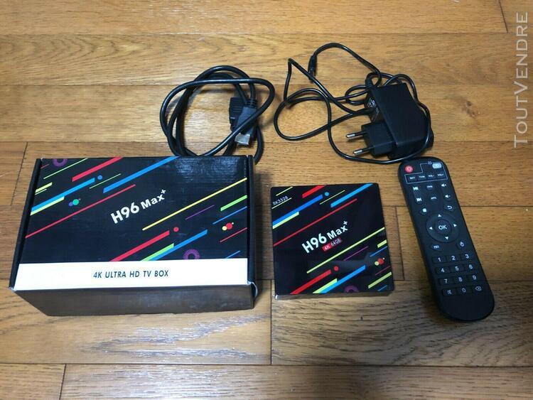 H96 max+ android8.1 tv box rk3328 quad-core 4g ram 64g rom w