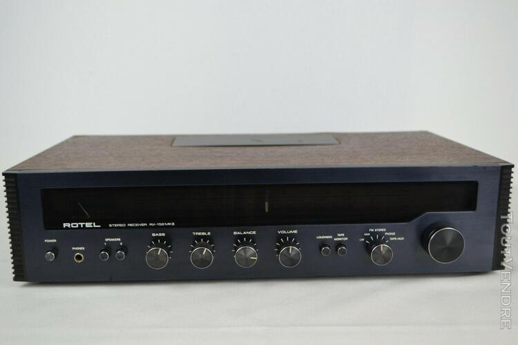 Amplificateur tuner rotel rx-152mkii révisé par un