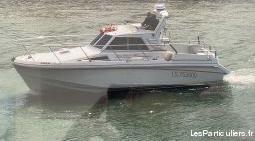 Bateau moteur sea rover