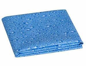 Evonell sports towel serviette microfibre 60 x 80 cm, bleu