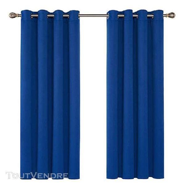 Rideaux lot de 2 thermiques de fenêtre - 140 x 170 cm