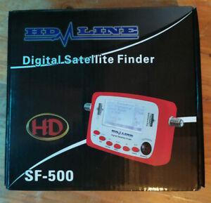 Digital satellite finder sf-500