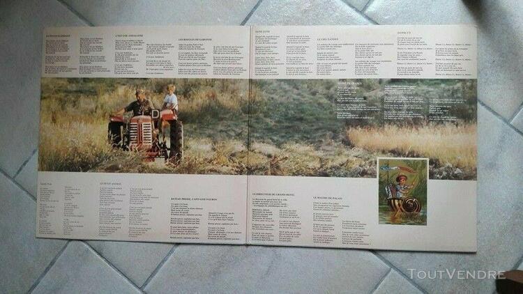 """Album vinyle julien clerc 33 t """"terre de france"""""""