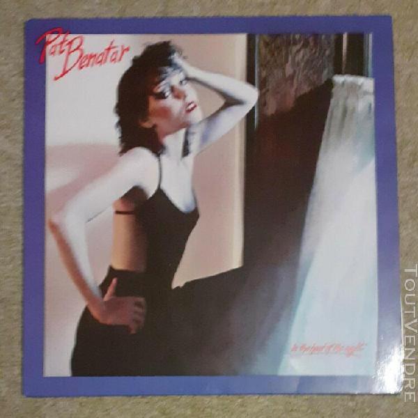 Vinyles 33 t pat benatar in the heat of the night 1979