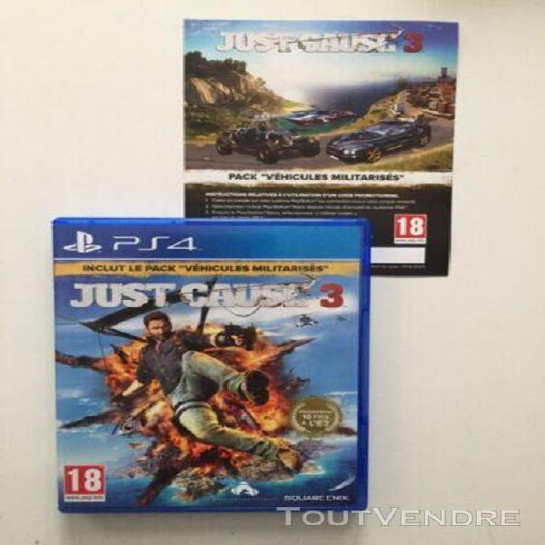 Just cause 3 + dlc - jeux ps4 - playstation 4