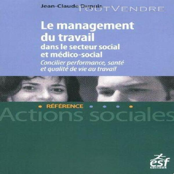 Le management du travail dans le secteur social et