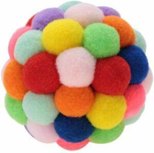 Sheens jouets pour chats balle à la main coloré boule