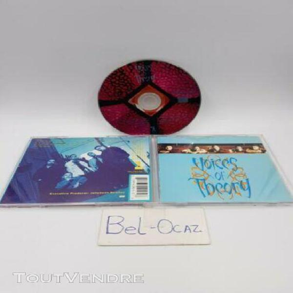 Voices of theory de voices of theory   cd album   état bon