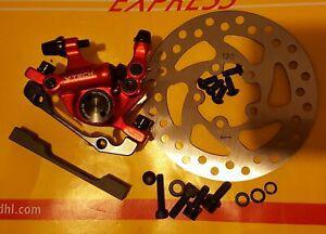 Frein xtech zoom étrier hb100 vélo hydraulique disque