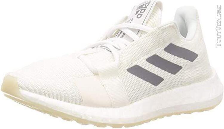 Adidas senseboost go w, chaussures de course femme, blanc gr