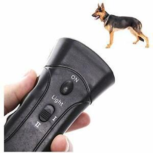 Deyiis répulsif portable à ultrasons pour chien 3 en 1 -
