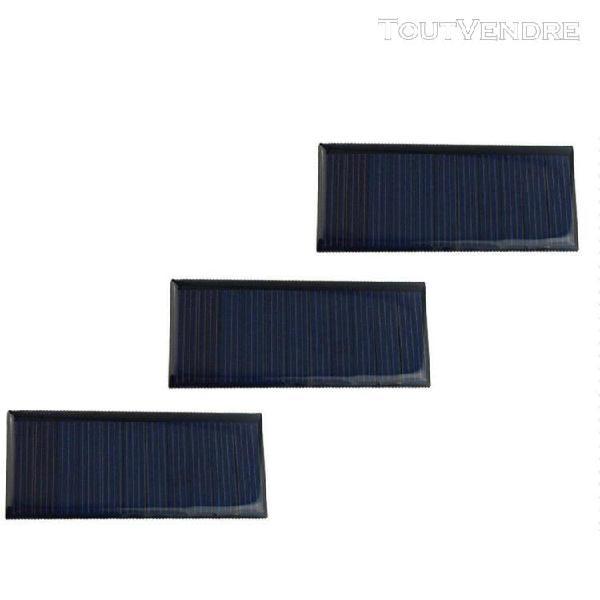 2pcs/set panneau solaire 12v volts chargeurs téléphone