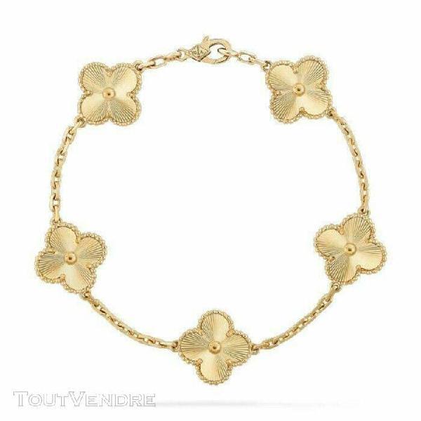 Authentic van cleef arpels vtg alhambra 5 motif guilloché