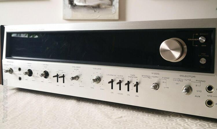 Pioneer sx-828 ampli tuner vintage à restaurer