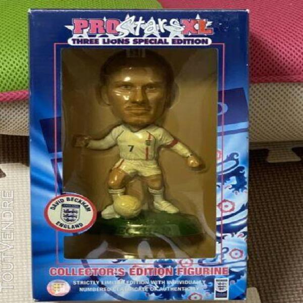 Pro star xl 3 lions figure football beckham england limited