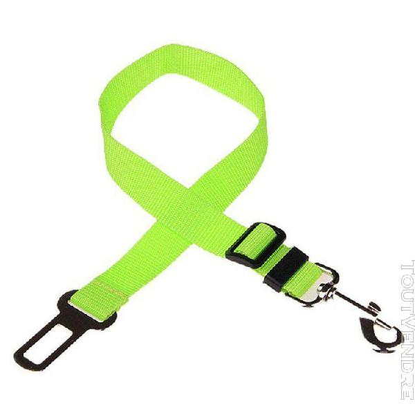 Vert clair de ceinture animal siège auto 43-70cm vert clair