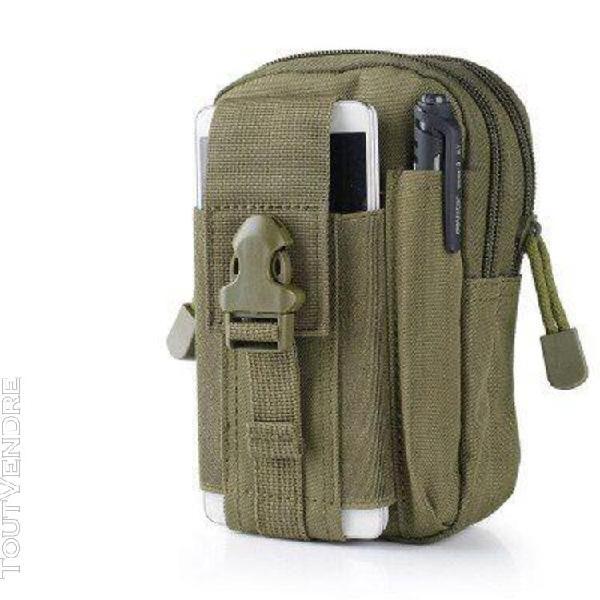 Pochette de taille tactique sac de ceinture de chasse milita
