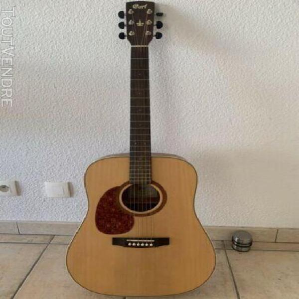Guitare acoustique gaucher