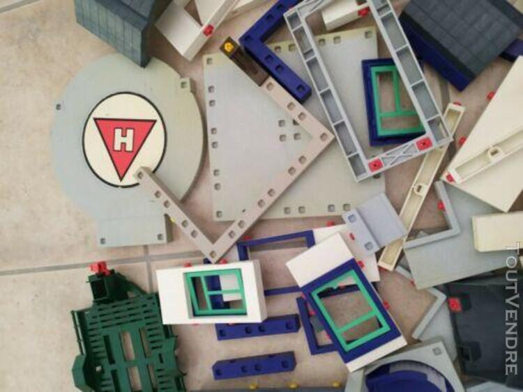 Playmobil lot vrac 1,8 kg toits plaques sol pièces mur pour