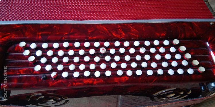 Accordéon boutons fratelli crosio 80 basses, fisarmonica