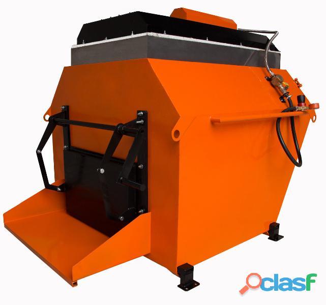Recycleur d'asphalte / thermos trémie НВ 1 (POLOGNE)
