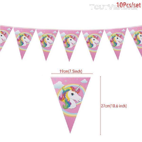 Arc en ciel licorne moules à cupcake en papier gâteau