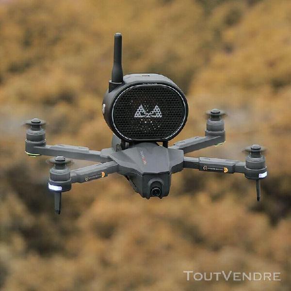 Drone sans fil 1km, haut parleur, mégaphone, pour dji mavic