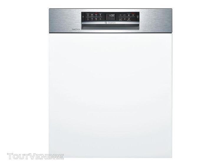 Bosch serie smi68ms02e - lave vaisselle acier inoxydable - i