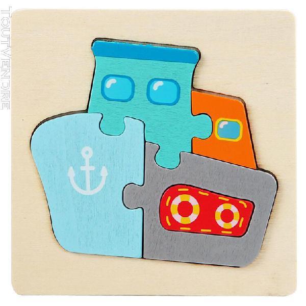Developpement intellectuel formation enfants puzzle geometri