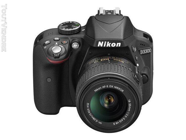Nikon d3300 - appareil photo numérique - reflex - 24.2 mpix
