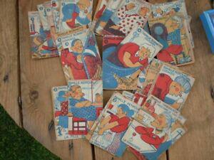 Jeu de cartes anciens, jeu des 7 familles. année 1910