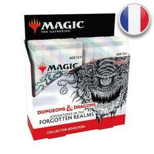 Magic boite de 12 boosters collectors d&d aventures dans les