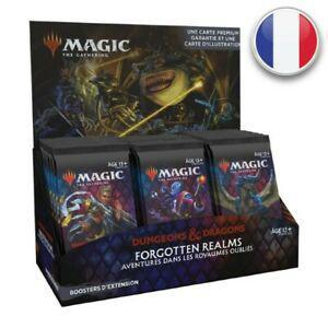 Magic boite de 30 boosters d'extension d&d aventures