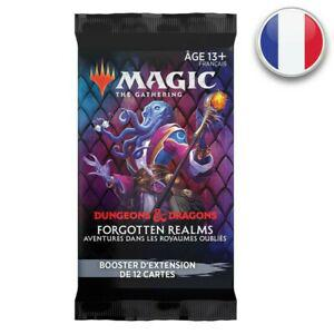 Magic booster d'extension d&d aventures dans les