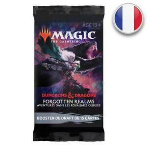 Magic booster de draft d&d aventures dans les royaumes