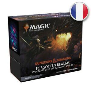 Magic bundle d&d aventures dans les royaumes oubliés fr mtg