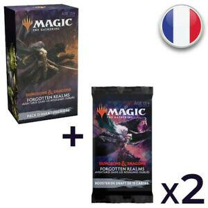 Magic pack d'avant première + 2 booster de draft d&d