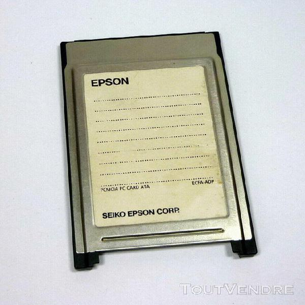 Pcmcia adapter epson adaptateur cartes cf compact flash card