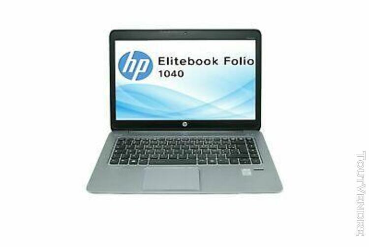 Hp elitebook folio 1040 g2 intel core i5 5300u - ssd - 8go r