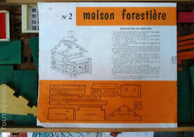 Maison forestiere 2 jeujura en bois