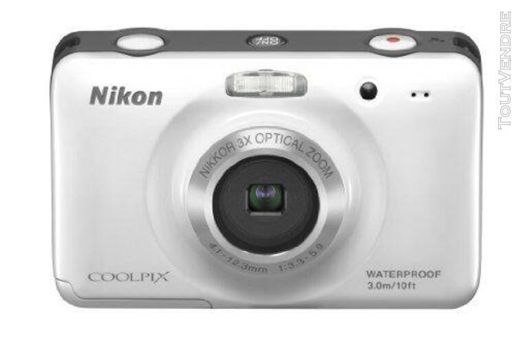 Nikon appareil photo numérique coolpix (coolpix) s30 blanc
